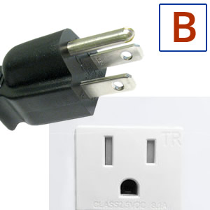 Power plug type B