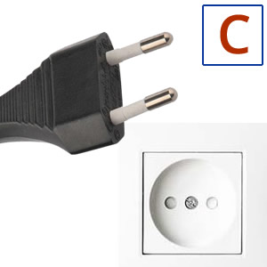 Power plug type C
