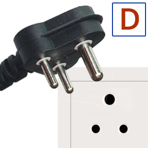 Power plug type D