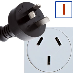 Power plug type I