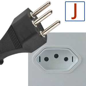 Power plug type J