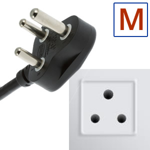 Power plug type M